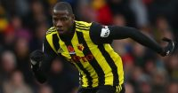 WATFORD, ENGLAND - OCTOBER 27: Abdoulaye Doucoure of Watford during the Premier League match between Watford FC and Huddersfield Town at Vicarage Road on October 27, 2018 in Watford, United Kingdom. (Photo by Catherine Ivill/Getty Images)