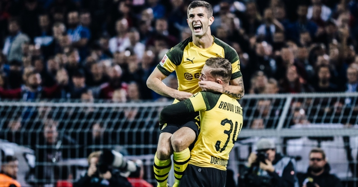 448ad99347e Gossip  Chelsea bid for Pulisic  he prefers Liverpool - Football365
