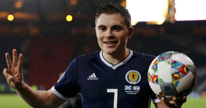 Forrest hat-trick gives Scotland Euro 2020 play-off place - Football365 3d254b2ec