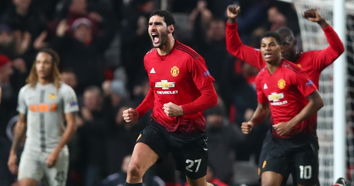 Image result for fellaini winner