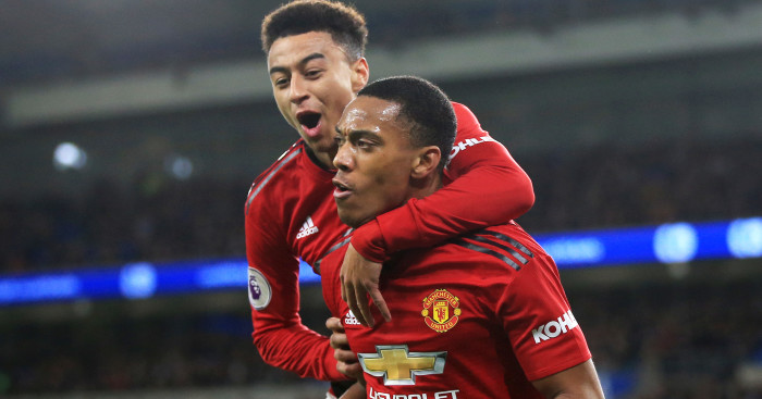 Lingard and Martial F365