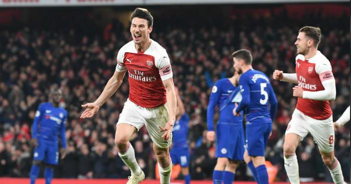 Resultado de imagen para Arsenal  2-0  Chelsea