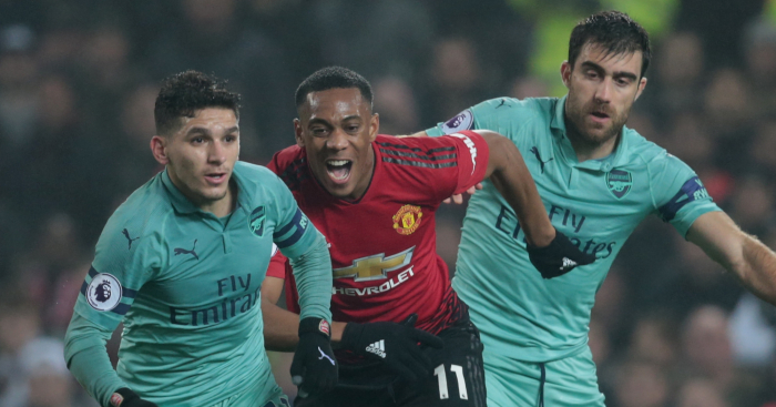 Arsenal vs man united match tickets