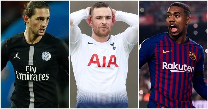 Top ten players with three days to secure a transfer