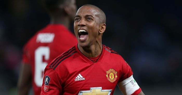 Ashley Young offers parting message for Man Utd