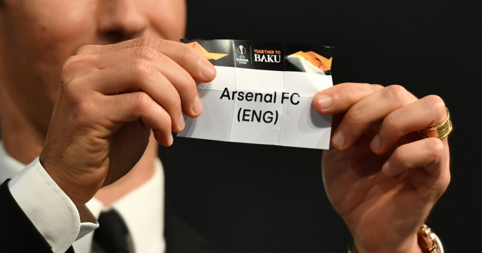 Arsenal Get Napoli In Europa Draw Chelsea Face Slavia Prague