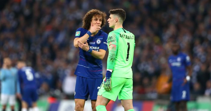 David Luiz Kepa Chelsea