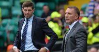 Steven Gerrard Brendan Rodgers Celtic Rangers