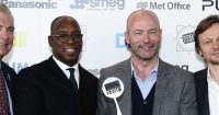 Ian Wright Alan Shearer