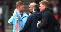 Pep Guardiola Kevin De Bruyne Manchester City