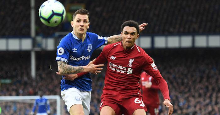 Digne Alexander-Arnold Liverpool Everton