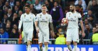 Toni Kroos Karim Benzema Raphael Varane Real Madrid