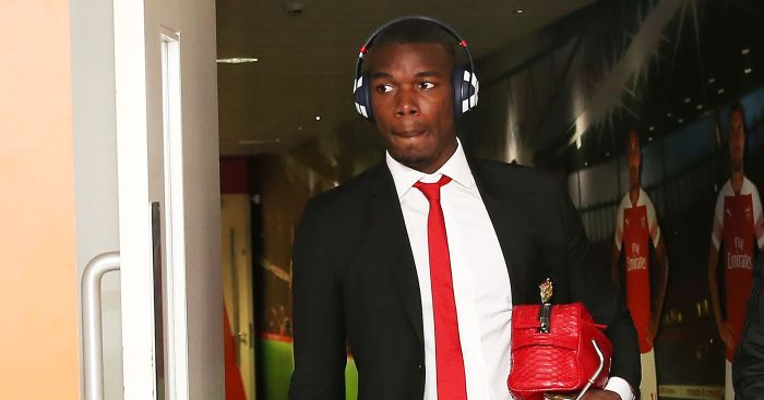 Paul Pogba Arsenal Manchester United