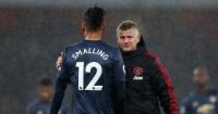 Ole Gunnar Solskjaer Chris Smalling Manchester United