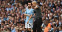 Bernardo SIlva Pep Guardiola Manchester City