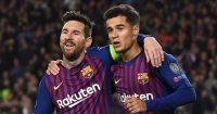 Philippe Coutinho Lionel Messi Barcelona