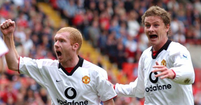 Paul Scholes Ole Gunnar Solskjaer Manchester United
