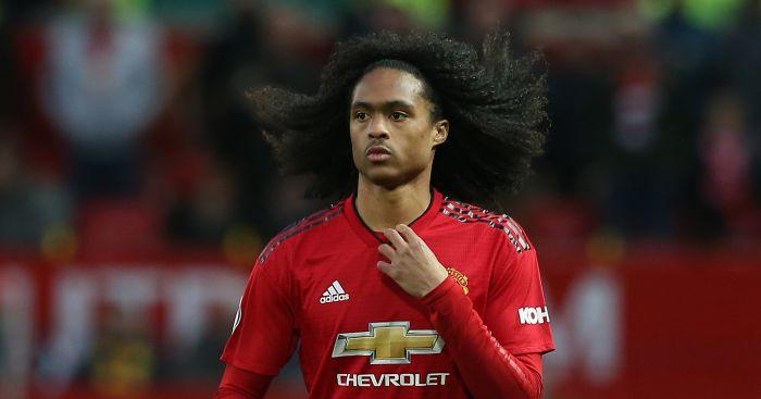 Tahith Chong Manchester United