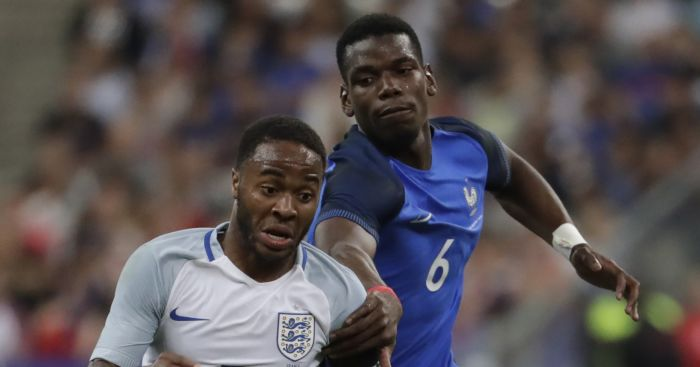 Raheem Sterling Paul Pogba England France