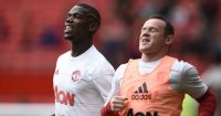 Paul Pogba Wayne Rooney Manchester United