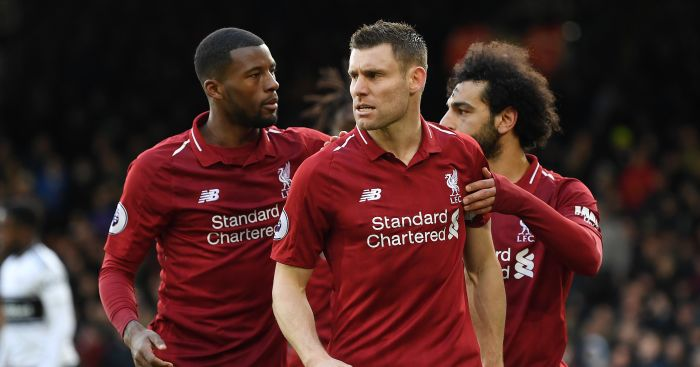 James Milner Liverpool