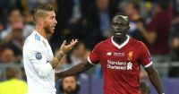 Sadio Mane Sergio Ramos Liverpool Real Madrid