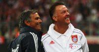 Jose Mourinho Louis van Gaal Manchester United