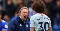 Neil Warnock David Luiz Cardiff Chelsea