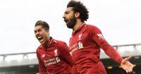 Liverpool v Tottenham Mohamed Salah