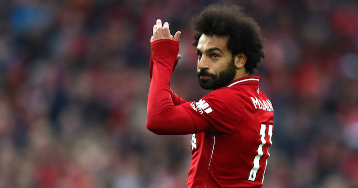 Liverpool v Tottenham Mohamed Salah F365