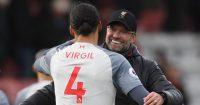 Jurgen Klopp Virgil van Dijk Liverpool