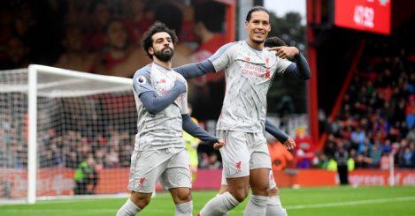 Mo Salah Virgil van Dijk Liverpool