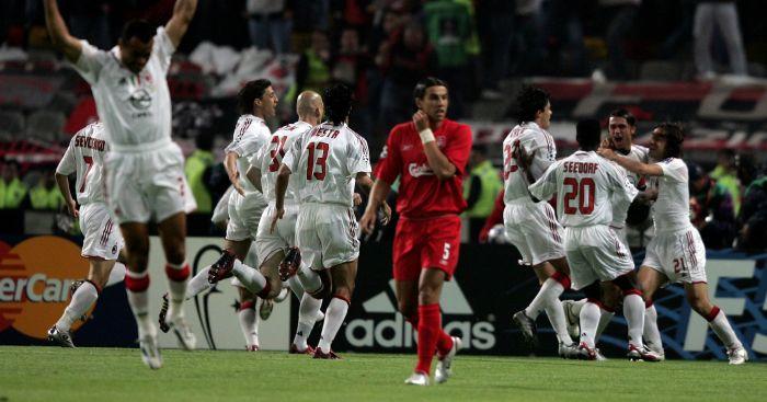 AC Milan Liverpool Paolo Maldini Istanbul Champions League final 2005