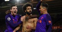 Southampton v Liverpool Mohamed Salah