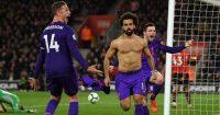 Mohamed Salah Jordan Henderson Liverpool