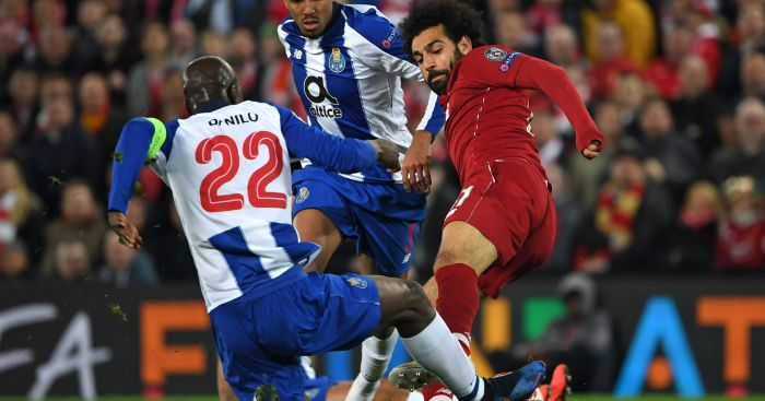 Mohamed Salah Liverpool Porto