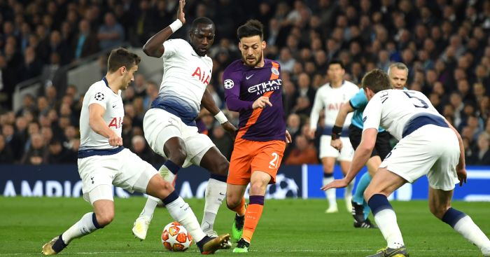 Moussa Sissoko Harry Winks David Silva Tottenham Manchester City