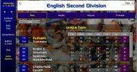 Rushden Second Division league table