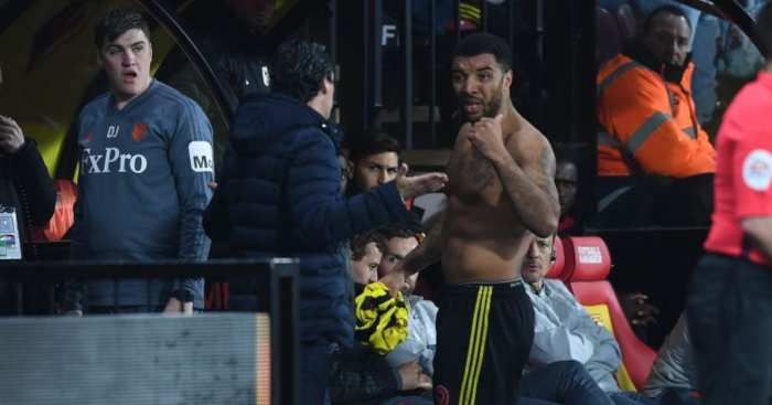 Troy Deeney Watford Unai Emery Arsenal