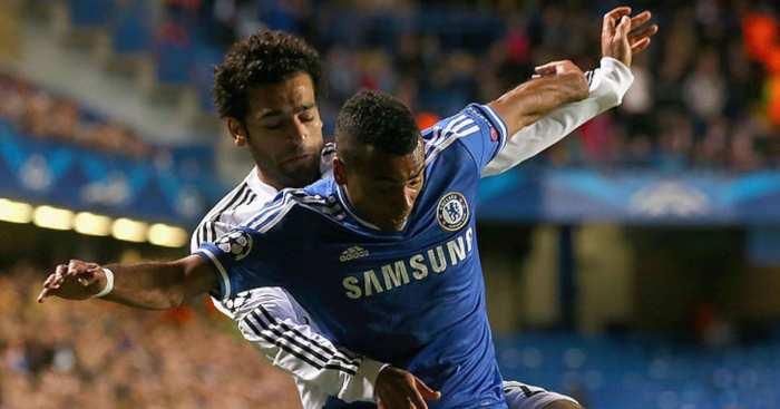 Ashley Cole Mohamed Salah Chelsea