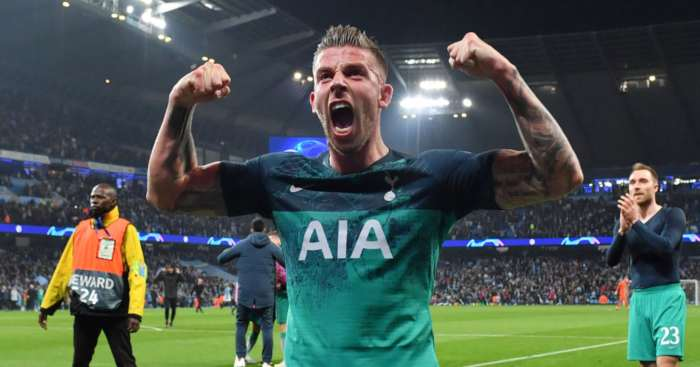 Toby Alderweireld Tottenham