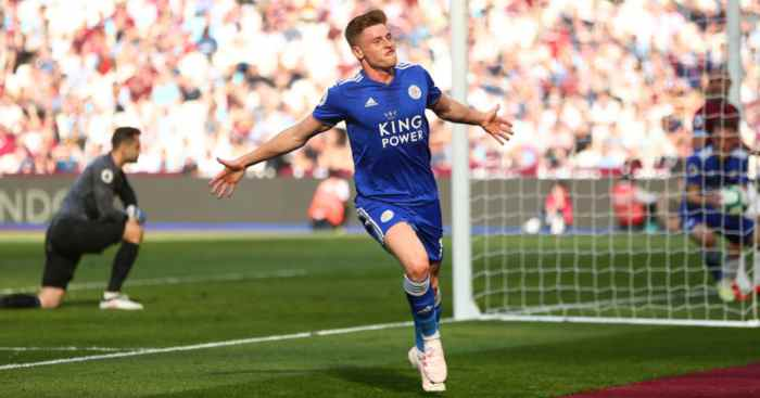 West Ham Leicester City Harvey Barnes