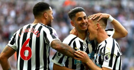 Ayoze Perez Newcastle Southampton