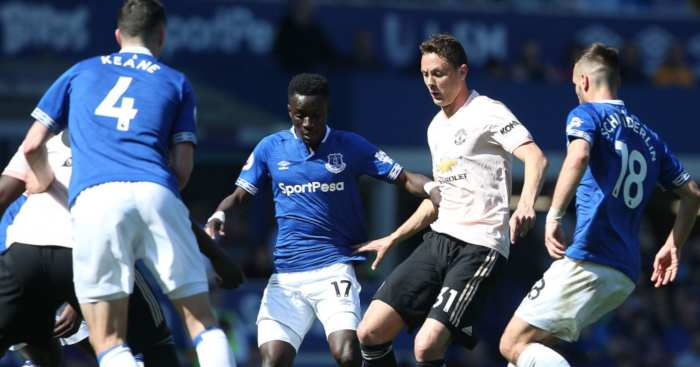 Nemanja Matic Manchester United Everton