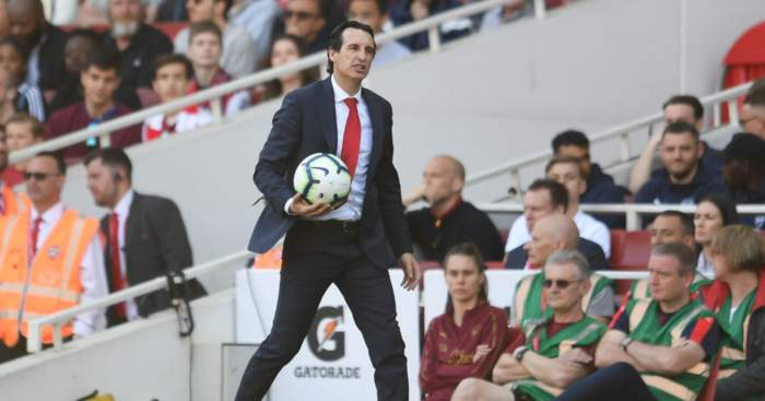 Unai Emery Arsenal F365
