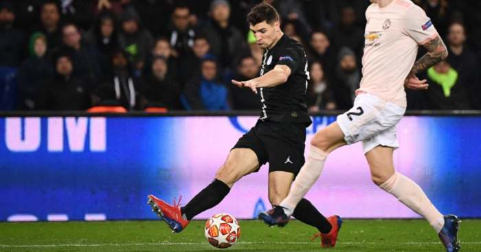 Thomas Meunier PSG Manchester United