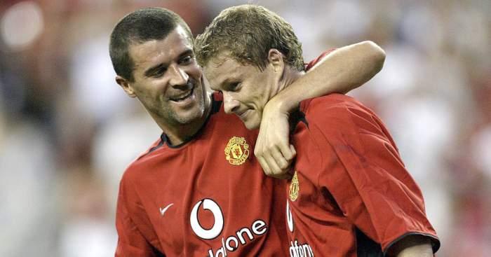 Roy Keane Ole Gunnar Solskjaer Manchester United