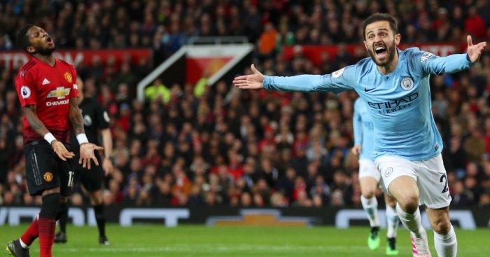 Bernardo Silva Manchester City United