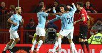 Leroy Sane Manchester City Manchester United