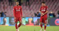Liverpool Napoli players